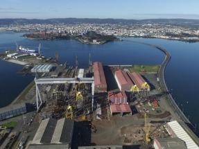 Navantia construirá cuatro estructuras de anclaje para el parque eólico marino de Nissum Bredning