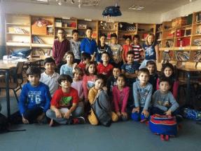 400 escolares de un pueblo madrileño demuestran cómo ahorrar energía
