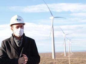 El parque eólico Vientos Neuquinos I ya tiene instalados un tercio de sus cien megavatios