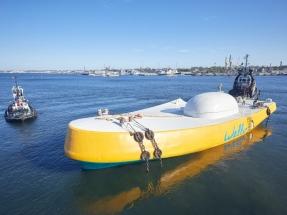 Penguin, el prototipo de aprovechamiento de la energía de las olas que ha elegido aguas vascas para sus ensayos