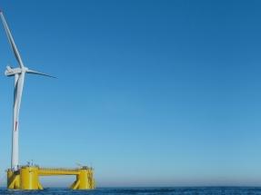California desembarca en la carrera eólica marina con un parque flotante de cien megavatios
