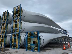 Dinamarca gana posiciones en la carrera del reciclaje de palas de aerogenerador