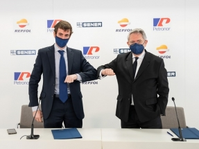 Sener y Repsol eligen Bizkaia para establecer allí la fábrica de electrolizadores con los que producirán hidrógeno verde