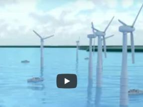 Desarrollan una plataforma digital que reduce los fallos en el pitch de los aerogeneraroes marinos