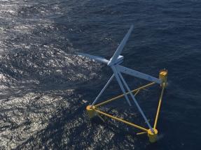 PivotBuoy, la plataforma eólica flotante que está viendo la luz en Santander y será ensayada en aguas canarias