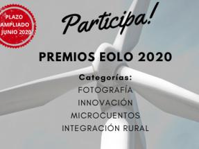 AEE amplía hasta el 1 de junio el plazo para participar en los premios Eolo