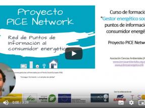 150 gestores energéticos formados para combatir la pobreza energética gracias al proyecto PICE