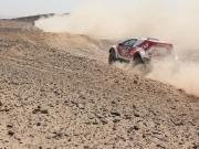 El todoterreno 100% eléctrico de Acciona acaba la etapa reina del Rally de Marruecos