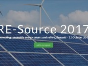 RE-Source 2017, connecting renewable energy buyers and sellers