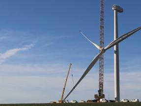 Senvion instala su primer prototipo de 3,6 megavatios y 140 metros de diámetro de rotor