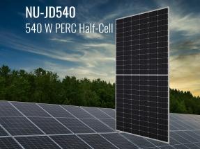 Sharp lanza un nuevo módulo de célula partida de 540 vatios para huertos solares y cubiertas comerciales