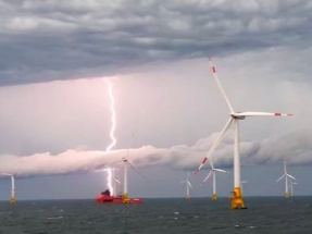 La eólica marina europea arrasa en la costa este