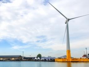 Ideol bota en Francia su primera plataforma eólica marina flotante