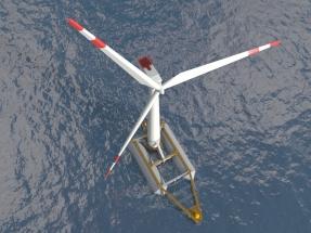 Eólica marina Marca España: aerogeneradores de 15 megas sobre plataformas flotantes frente a las costas de Bilbao