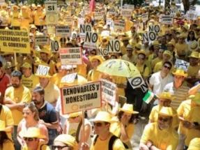 Los pequeños productores de energía solar reclaman justicia en un vídeo-protesta