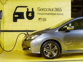 El grupo Sercotel incorpora puntos de recarga para coches eléctricos en los aparcamientos de sus hoteles