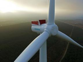 Siemens ya está probando su aerogenerador gigante de ocho megavatios