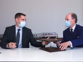 """Talgo firma un acuerdo con Repsol para impulsar """"el tren de hidrógeno renovable"""""""