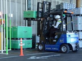 Toyota introduce en Motomachi una veintena de toros de hidrógeno