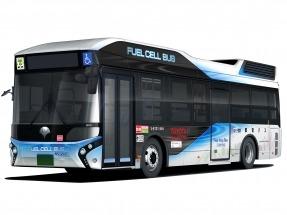 Toyota entrega un autobús de pila de combustible al Gobierno Metropolitano de Tokio