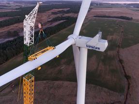 El presidente Mauricio Macri inaugura en la provincia de Buenos Aires un parque eólico de Vestas de cien megavatios