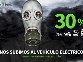 Navarra estrena una potente campaña de promoción de la compra de vehículos eléctricos
