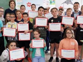 Un colegio de Albacete, premio EDPR Wind Experts