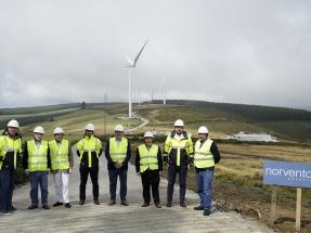 Los seis parques eólicos que está erigiendo Norvento en Lugo producirán 19 millones de euros en impuestos