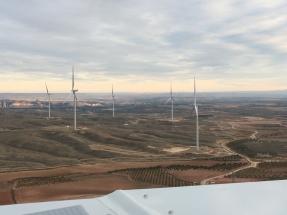 VME pone en marcha otros dos parques eólicos en Zaragoza