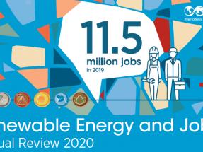 11,5 millones de personas en el mundo ya trabajan en el sector de la energía renovable