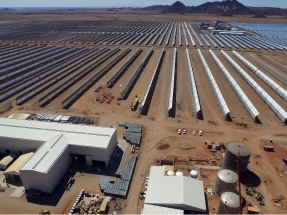 Abengoa vende a Engie su participación en la central termosolar Xina Solar One