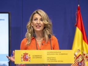 Yolanda Díaz confirma que el Gobierno aprobará nuevas medidas para abaratar el recibo de la luz