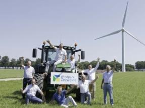 Doscientos pequeños inversores holandeses repotencian con máquinas Vestas el mayor parque eólico de propiedad comunitaria de Europa