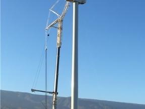 Iberdrola completa el montaje de los aerogeneradores de su primer parque eólico canario