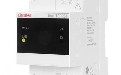 Circutor lanza el nuevo conversor inalámbrico Line-TCPRS1 con Wi-Fi y Ethernet