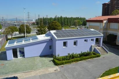 Alumnos y profesores de un instituto de Vitoria realizan un Edificio Zero Emisiones