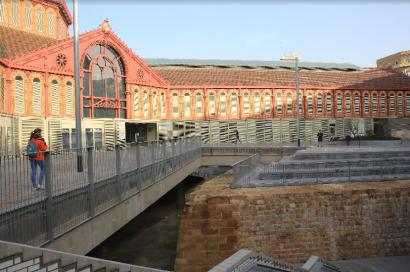 El histórico mercado de Sant Antoni de Barcelona, premiado como uno de los edificios más eficientes de 2020