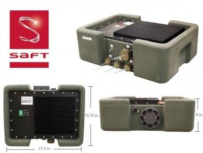 Saft entrega al ejército de los Estados Unidos las primeras baterías Adres con integración de energía renovable