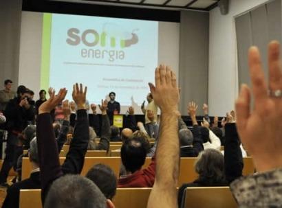 Som Energia prevé dar servicio a 22.000 hogares este año