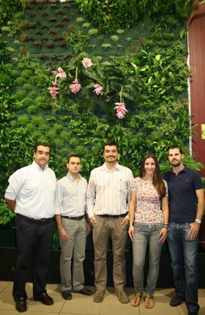 El primer jardín vertical activo de Europa está en Sevilla