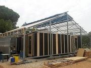 La casa invernadero '(e)co' de la UPC busca micromecenazgo para transportar el prototipo a Madrid