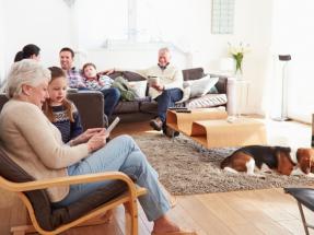 La casa del futuro permitirá calentar una estancia solo con el calor que emiten sus inquilinos