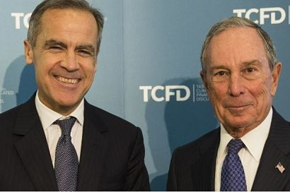 Bloomberg and Carney announce growing support for climate-focused financial taskforce