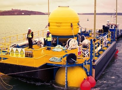 MPS successfully installs WaveSub WEC