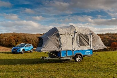 New concept camper uses second-life EV batteries for off-grid leisure
