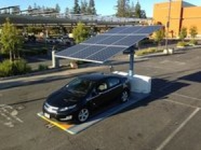 Envision Solar EV ARC solar charging station selected for Santa Monica airport
