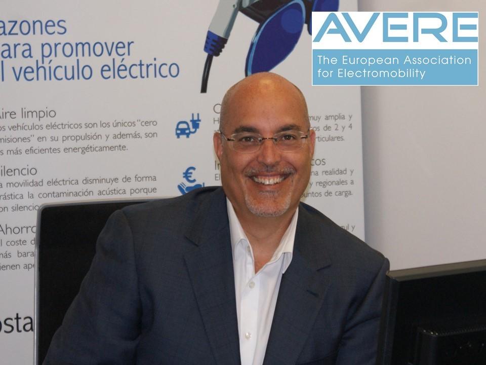 Arturo Pérez de Lucia, nuevo vicepresidente de AVERE, la Asociación Europea de Electromovilidad