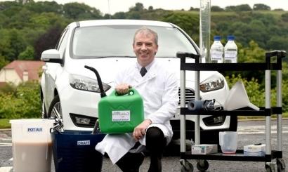 Celtic Renewables mueve ya coches en Escocia con residuos de la industria del whisky
