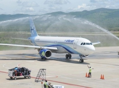 Primer vuelo comercial en México con biocarburantes