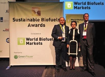 Premian el esquema de sostenibilidad de biocarburantes de Abengoa